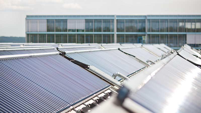 Solare Großanlagen von Ritter XL Solar