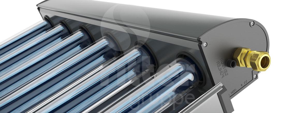 CPC Inox Vakuumröhren-Kollektoren