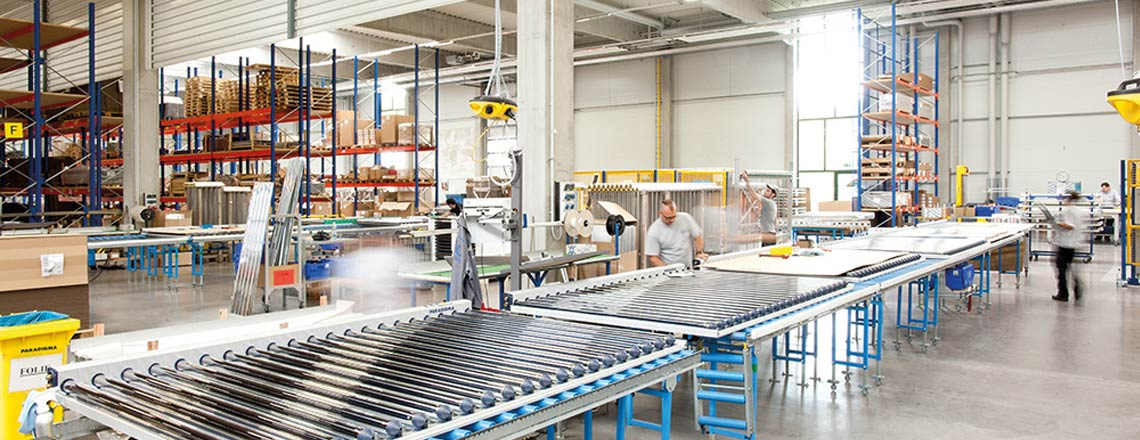 Kollektor Manufaktur Ritter Energie